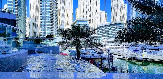 Gambar Dubai Marina